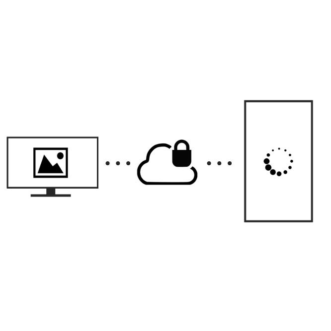 Upload, Datenübertragung