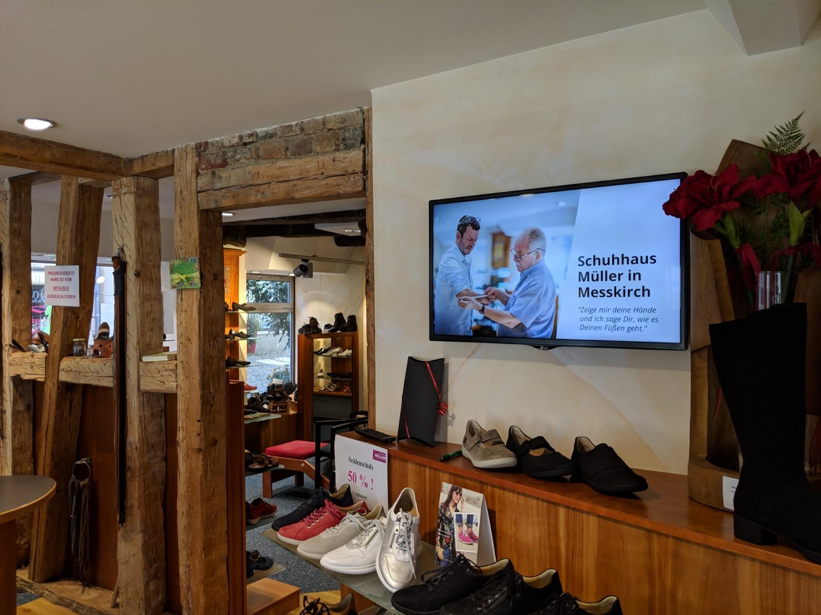 Digital Signage im Einzelhandel